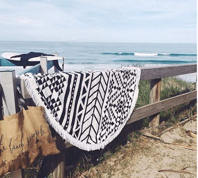 Summer Beach Mat, Yoga Mat or Outdoor Picnic Blanket
