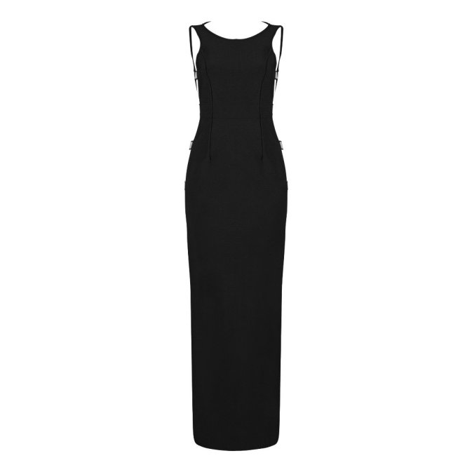 Cut Out Gown Apparel