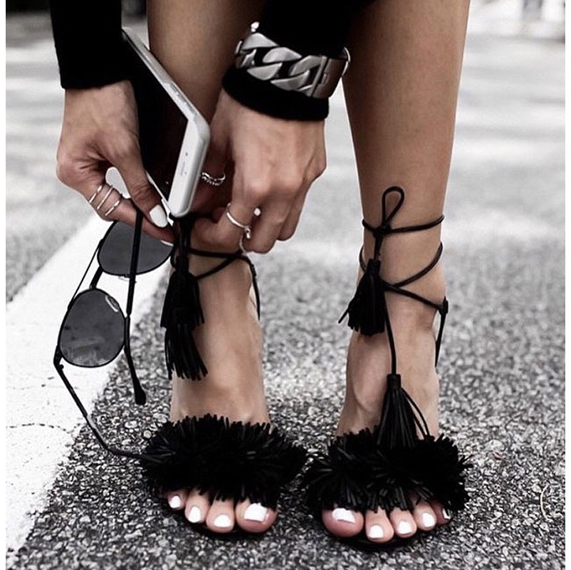 Real vs. Steal – Aquazzura Wild Thing Fringed Suede Sandals