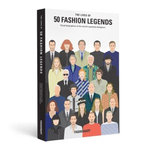 Book The Lives of 50 Fashion Legends
