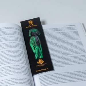 Green dress bookmark