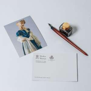 Historical Blue Dress