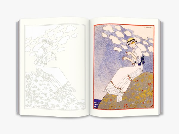 The Age of Glamour (Victoria and Albert Museum) An Art Deco Colouring Book