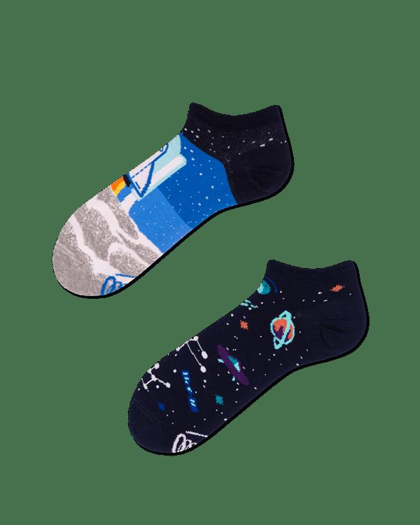 Space Trip Low Socks