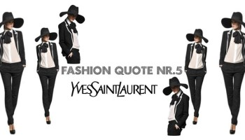 Fashion quote nr5 kaas