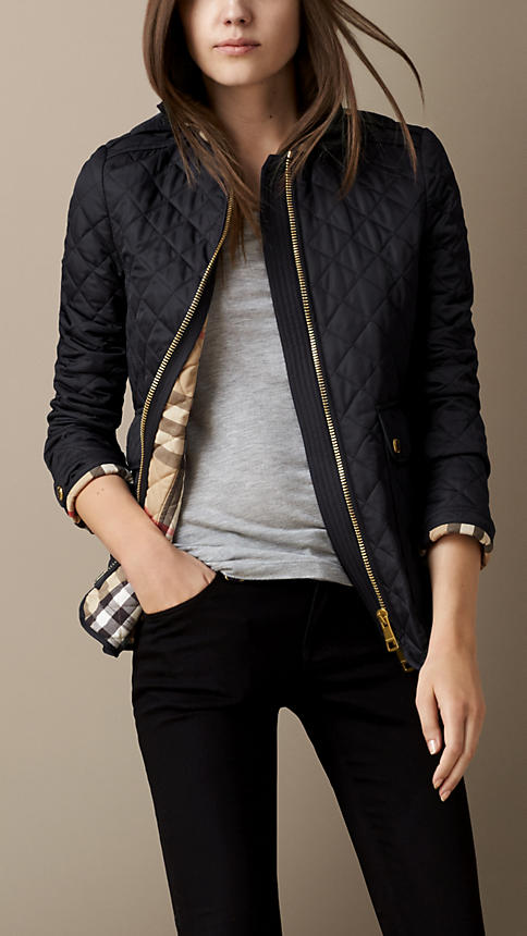 3. quilted jacket