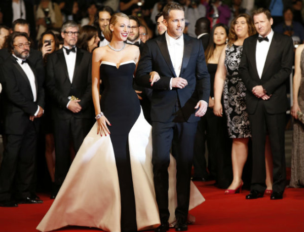 7 Best and worst dressed stars at Cannes Film Festival 2014 - Blake_Lively_and_Ryan_Reynolds
