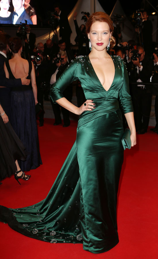 7 Best and worst dressed stars at Cannes Film Festival 2014 - cannes-lea-seydoux