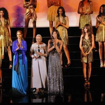 CFDA Awards Winners Iman-Bethann