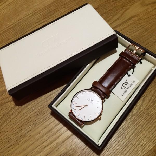 MY DW watch