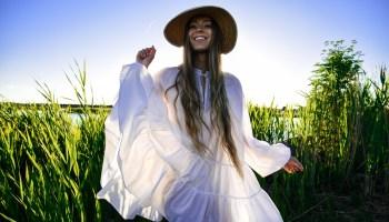 White summer dress 10