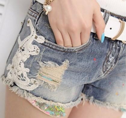 FashionNuevo Jeans Shorts for Ladies