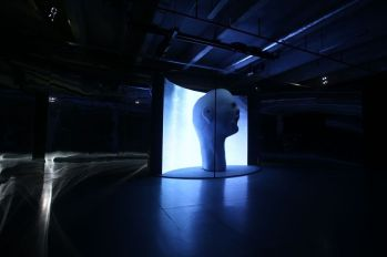 Lynch's set designed for Kenzo Autum/Winter 2014 show