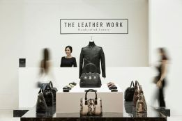 The 'Leather Work' fake pop-up shop