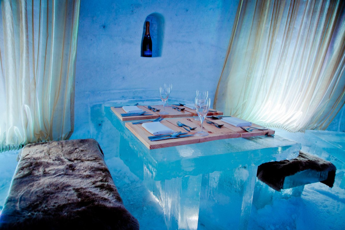 Ice Hotel Montreal Canada