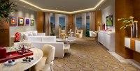 Living Room in Sky Villa Suite at The New Tropicana resort ...