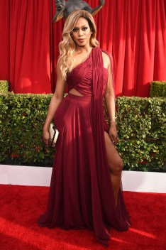 LOS ANGELES, CA - JANUARY 30: Actress Laverne Cox attends The 22nd Annual Screen Actors Guild Awards at The Shrine Auditorium on January 30, 2016 in Los Angeles, California. 25650_013 (Photo by Dimitrios Kambouris/Getty Images for Turner)