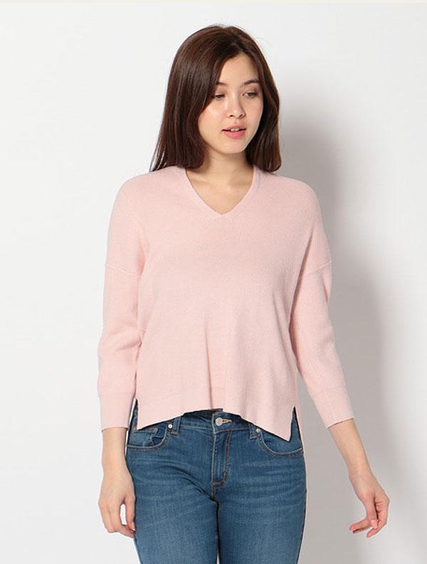 Vセーター