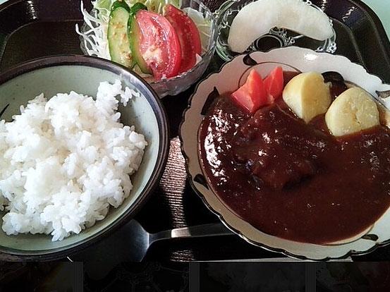 ビーフシチュー定食
