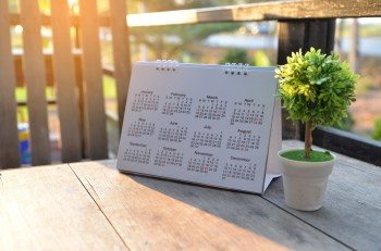 kalendarz, planer