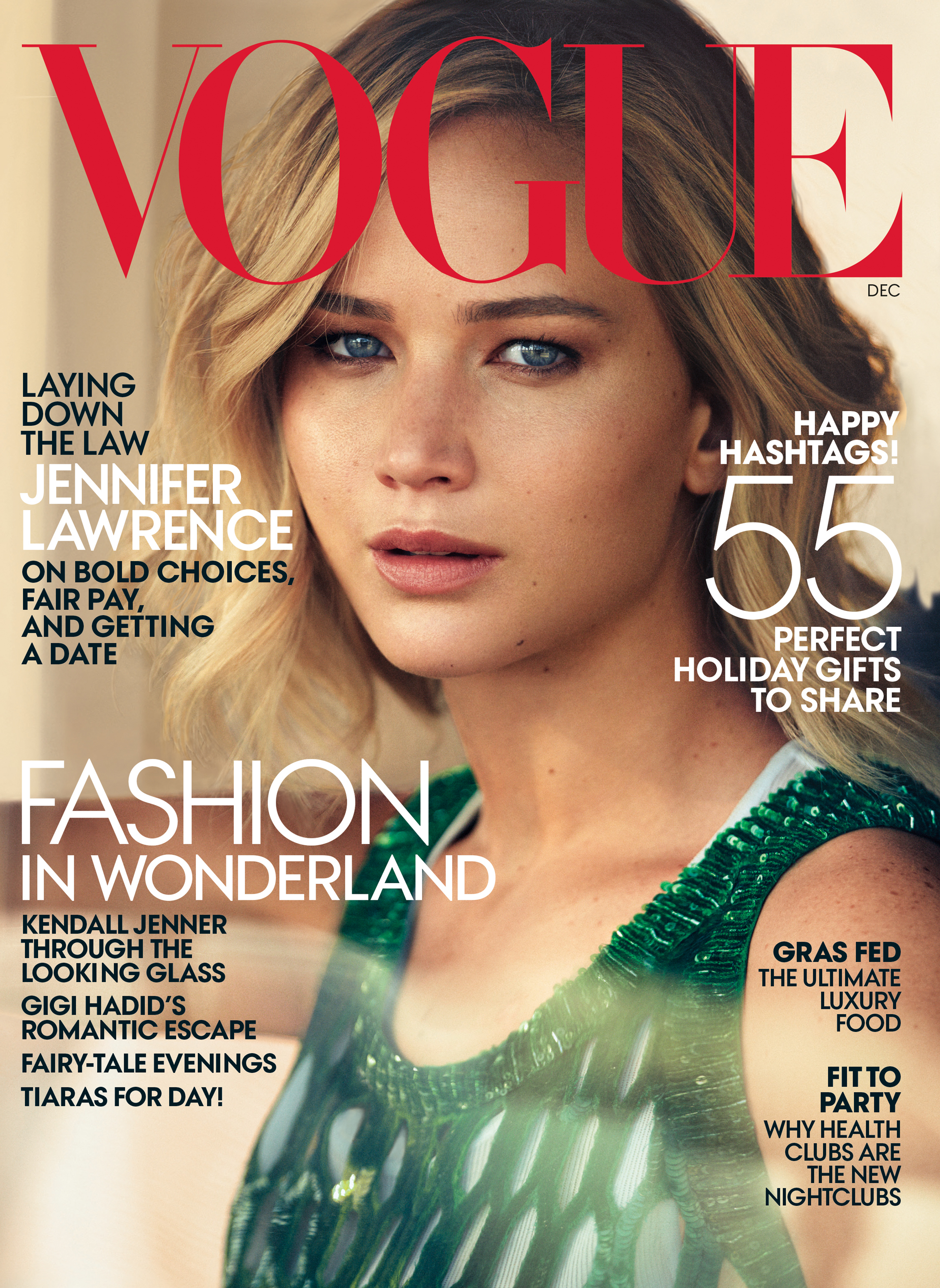 Best December 2015 Fashion Magazine Covers  Fashion