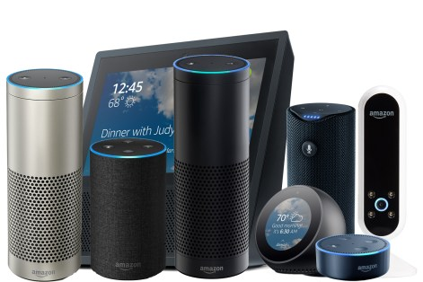 Amazon Echo series IoT devices - Fashion Retail