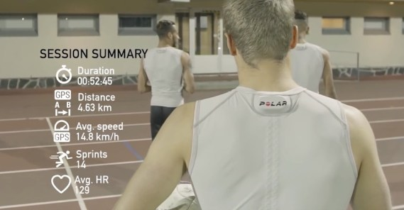 Polar Team Pro Shirt AI Wearable Sportswear - Fashion Retail