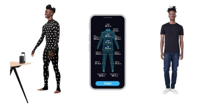 Zozo suit custom-fit unique sizing 3D IoT fashion retail