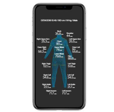 ZOZO suit measurement system 3D Scan Fashtech fashion retail