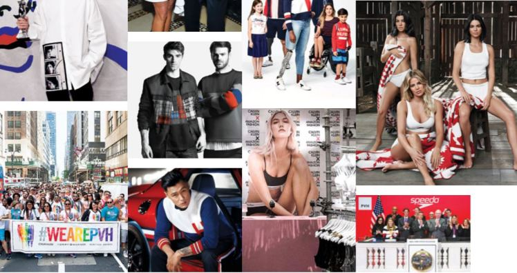 PVH American brands fashion conglomerate