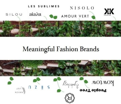 Meaningful Fashion Brands