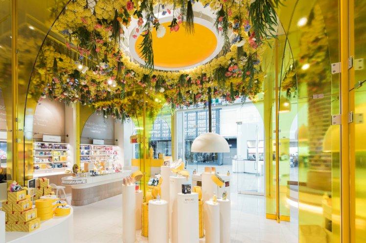 loccitane toronto concept store retail design