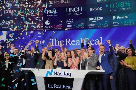 The RealReal resale fashion goes public IPO unicorn