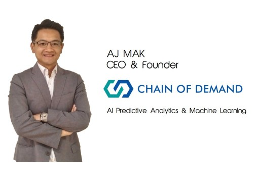The Fashion Retailer interview Chain of Demand CEO and Founder AI machine learning company