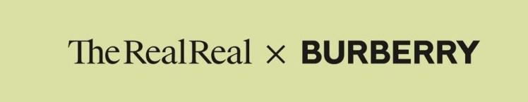 Resale therealreal burberry luxury circular economy