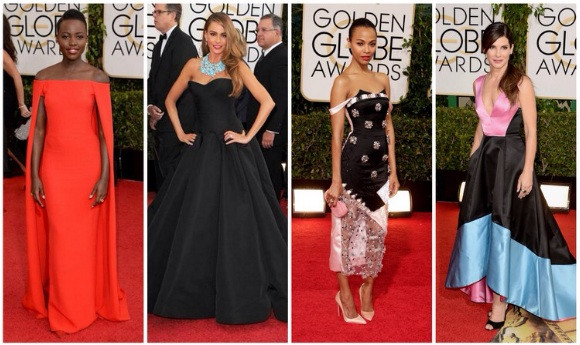Golden Globe Red Carpet Fashion