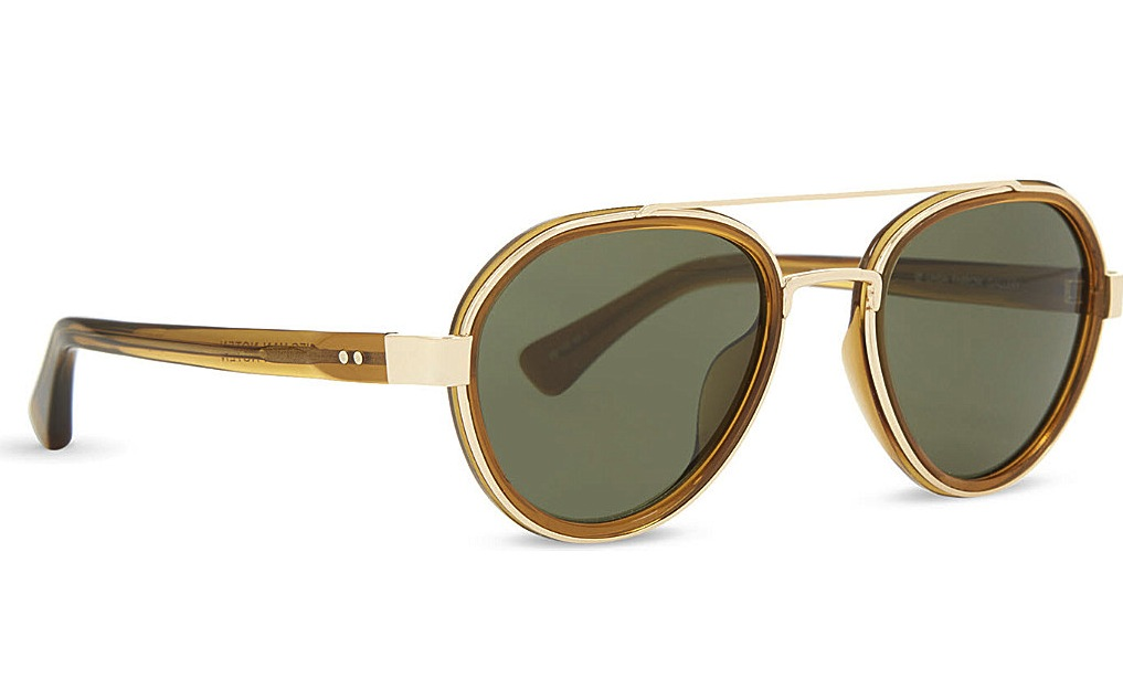 Dries Van Noten DVN82 Aviator Sunglasses