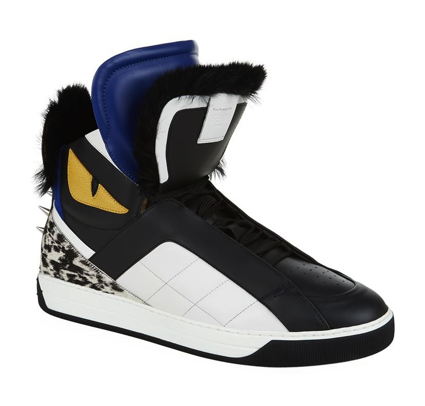 Fendi Monster Eyes Hightop