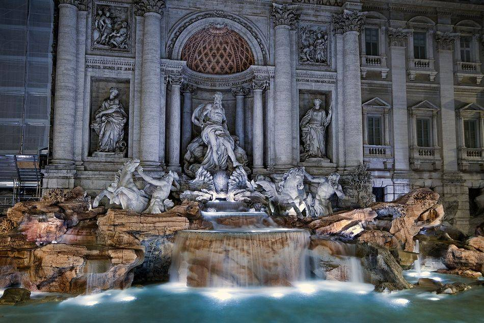 Fendi Trevi Fountain