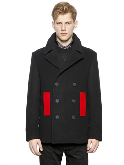 Givenchy Contrasting Peacoat