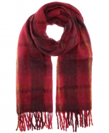 Marc by Marc Jacobs Blanket check scarf