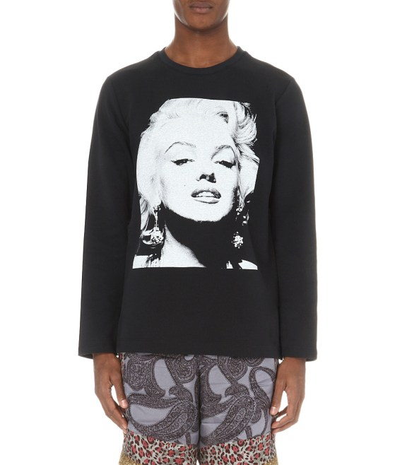 Dries Van Noten Hickson Marilyn Monroe Sweatshirt