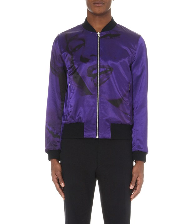 Dries Van Noten Marilyn Monroe Reversible Jacket