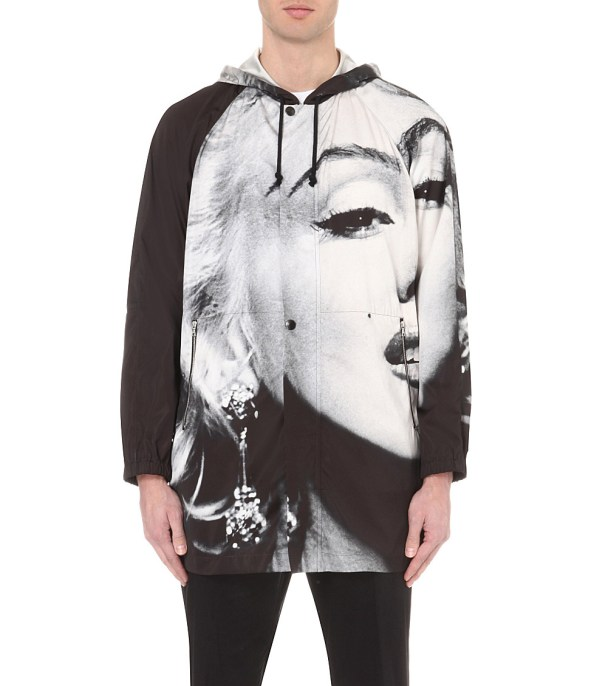 Dries Van Noten Valsh Marilyn Monroe Shell Parka