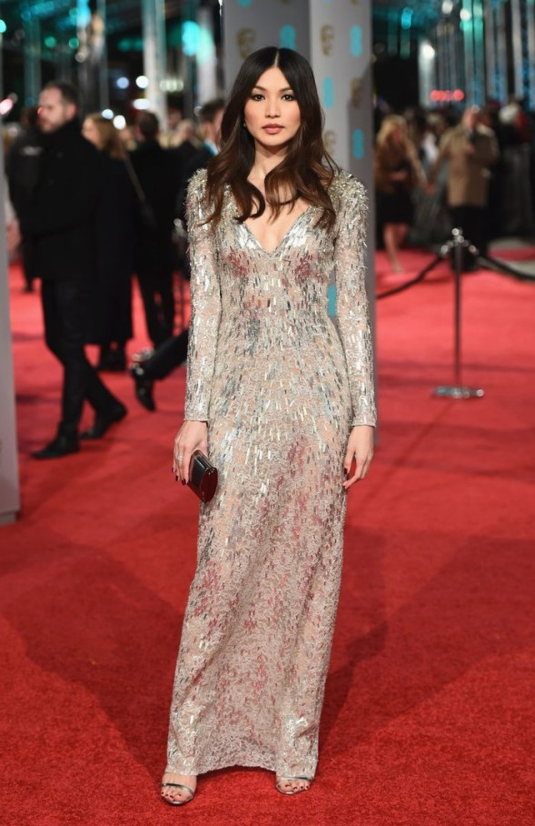 LONDON, ENGLAND - FEBRUARY 14: Gemma Chan attends the EE British Academy Film Awards at the Royal Opera House on February 14, 2016 in London, England. (Photo by Ian Gavan/Getty Images)