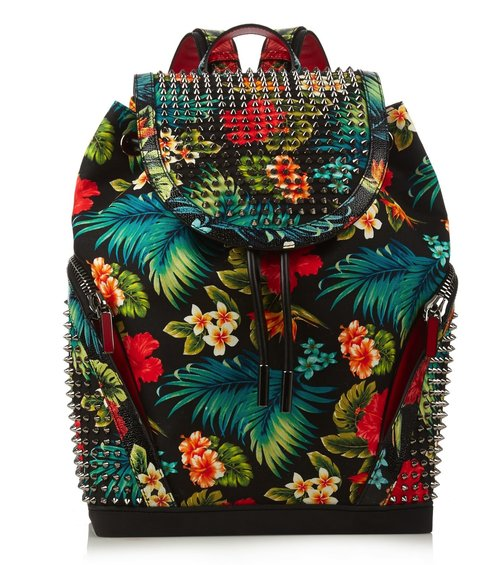 christian_louboutin_explorafunk_hawaiian_floral_print_backpack
