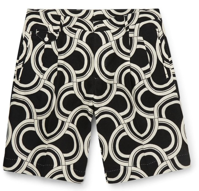 dolce_and_gabbana_printed_linen_shorts