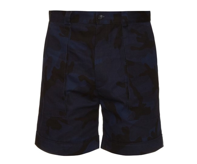 valentino_camouflage_print_cotton_shorts