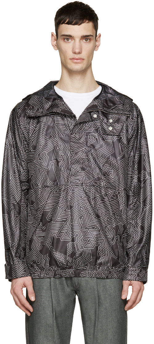 helmut_lang_black_white_labyrinth_anorak_jacket