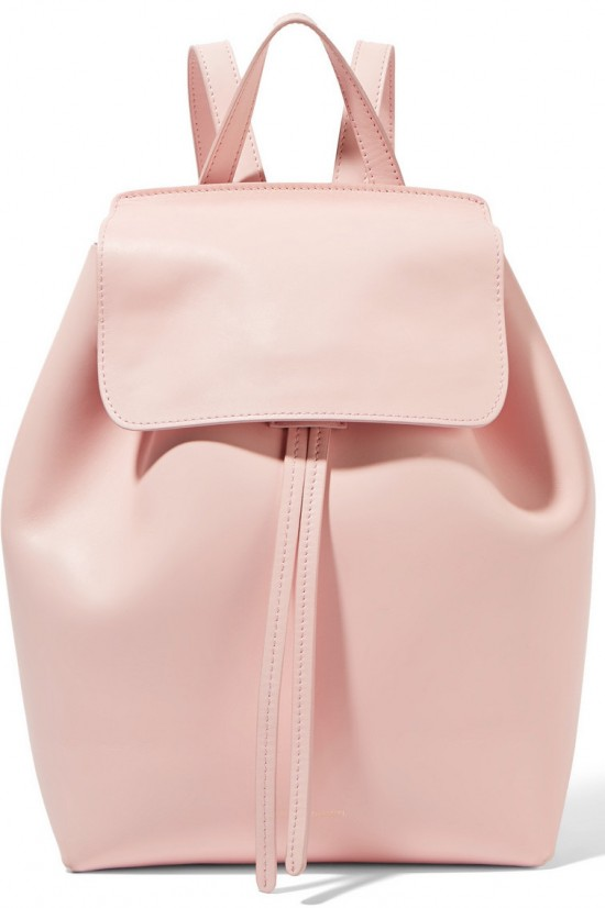 mansur gavriel mini leather backpack